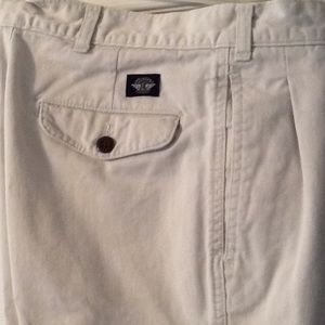 Dockers, khaki pants, 30x32, pleats, belt loops